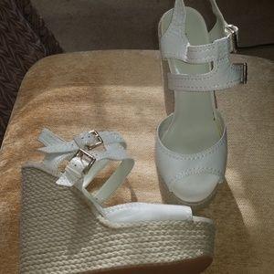 Nine West NWBLANCA Wedge Sandal